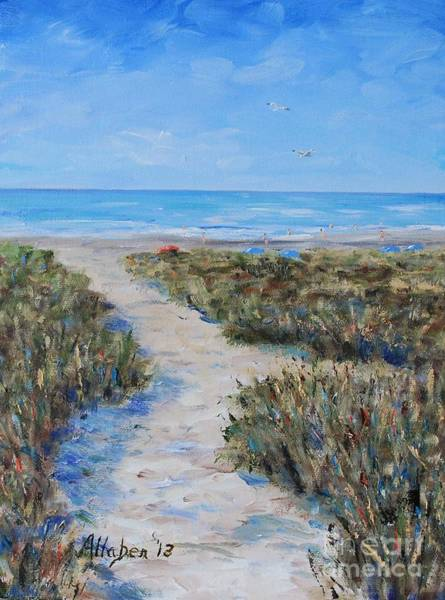 Painting - Path To The Beach by Stanton Allaben