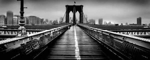 Foggy Photograph - Path To The Big Apple by Az Jackson