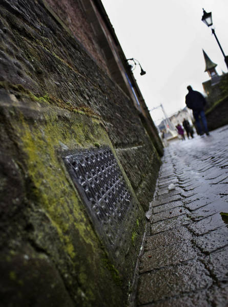 Photograph - Path To The Greig St Bridge by Macrae Images