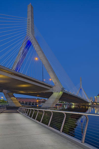 Capitalism Wall Art - Photograph - Path To The Leonard P. Zakim Bridge by Susan Candelario