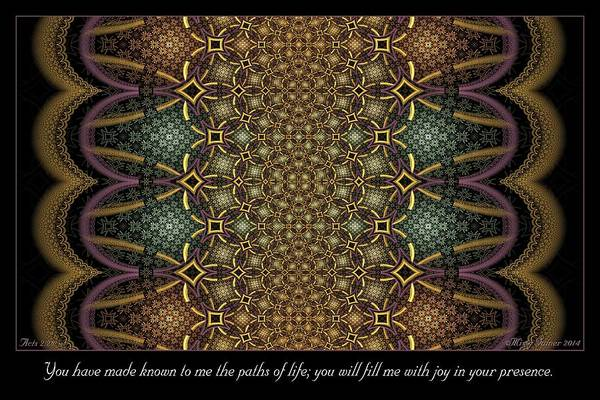 Digital Art - In Your Presence by Missy Gainer