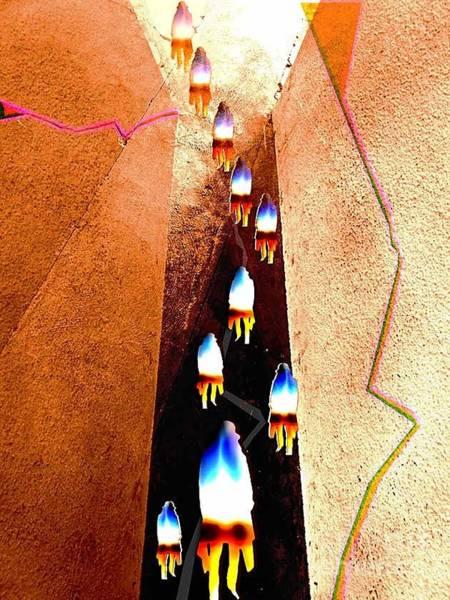 Digital Art - Pathway by Fei A