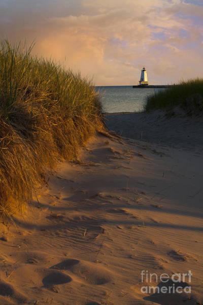 Pathway To Lighthouse Art Print