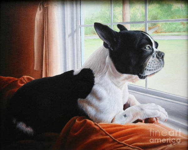 Painting - Patiently Waiting by Mike Ivey