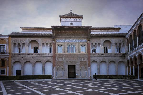 Photograph - Patio De La Montaria Seville by Joan Carroll