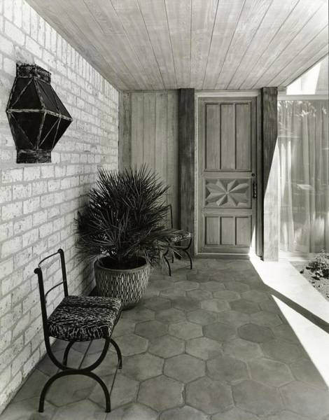 Facade Photograph - Patio by Tom Leonard