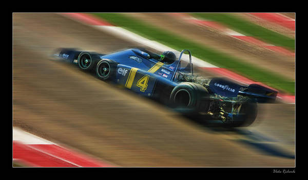 Photograph - Patrick Depailler by Blake Richards