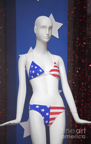 Photograph - Patriotic Mannequin by Jim West