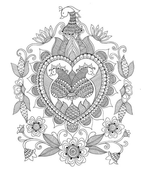 Colours Drawing - Pattern 7 by MGL Meiklejohn Graphics Licensing
