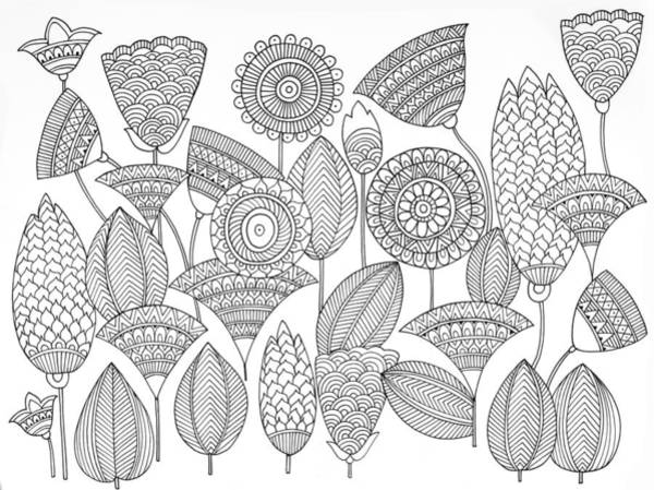 Wall Art - Drawing - Pattern 8 by MGL Meiklejohn Graphics Licensing