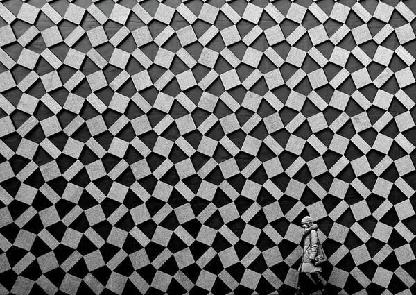 Ruin Photograph - Pattern by Koji Tajima