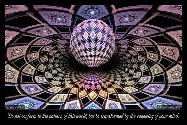 Digital Art - Pattern by Missy Gainer