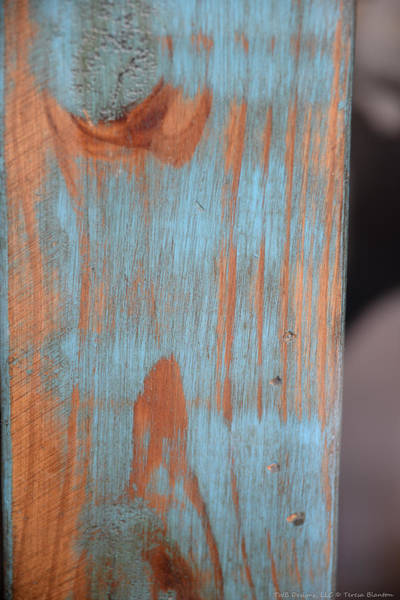 Photograph - Patterned Wood by Teresa Blanton