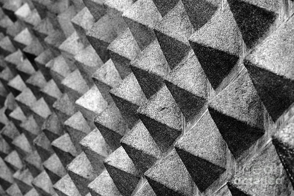 Photograph - Patterns In Granite Casa De Los Picos Segovia by James Brunker