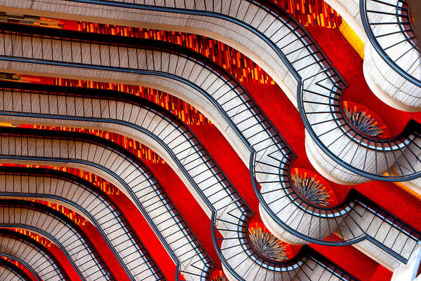 Photograph - Patterns In Red by Carol Erikson