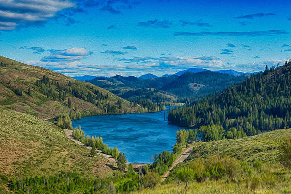Photograph - Patterson Lake In The Summer by Omaste Witkowski