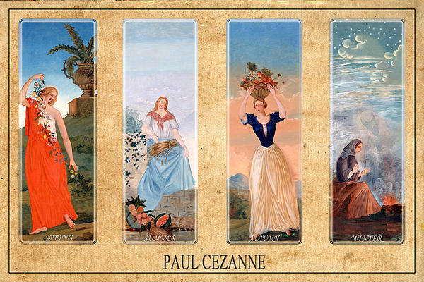 Photograph - Paul Cezanne 1 by Andrew Fare