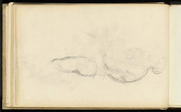 Allegorical Figure Drawing - Paul Cézanne, Study Of The Allegorical Figure Of Health by Litz Collection