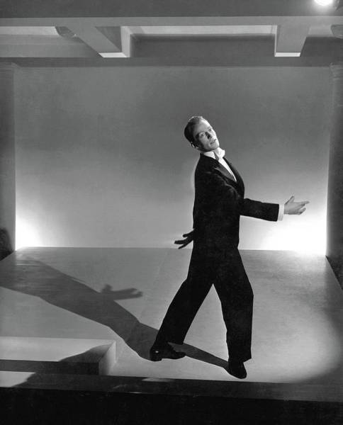 Gesture Photograph - Paul Draper Dancing by Horst P. Horst