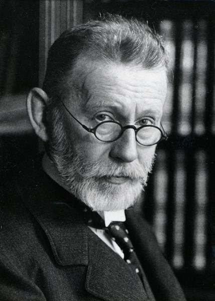 Shares Photograph - Paul Ehrlich by Universal History Archive/uig