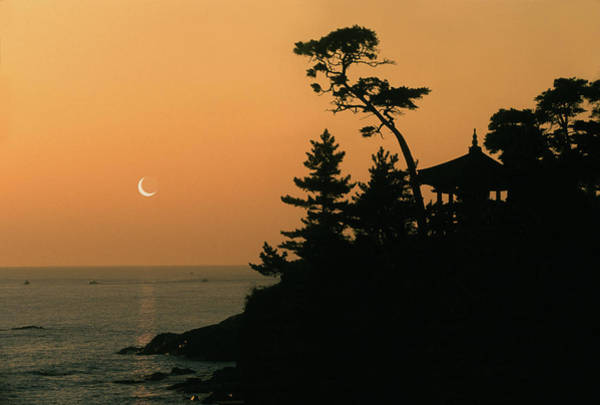 Wall Art - Photograph - Pavilion Overlooking Japanese Sea by Per-Andre Hoffmann