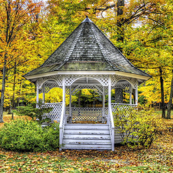 Arbor Photograph - Pavillion In Glen Arbor by Twenty Two North Photography