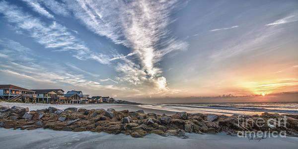 Photograph - Pawleys Island Beach Sunrise by Mike Covington