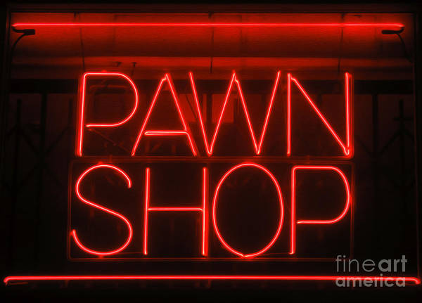 Photograph - Pawn Shop by Gregory Dyer