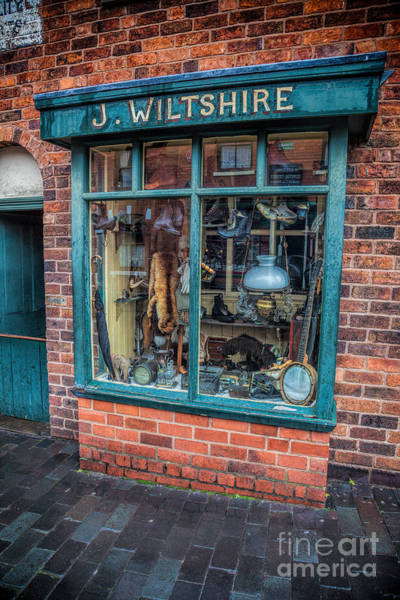 Wall Art - Photograph - Pawnbrokers Shop by Adrian Evans