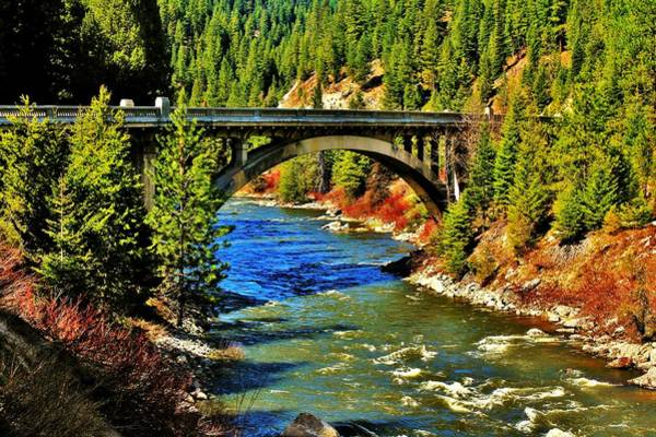Rainbow Bridge Wall Art - Photograph - Payette River Scenic Byway by Benjamin Yeager