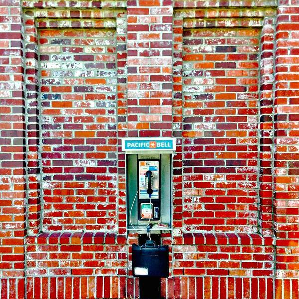 Wall Art - Photograph - Payphone by Julie Gebhardt
