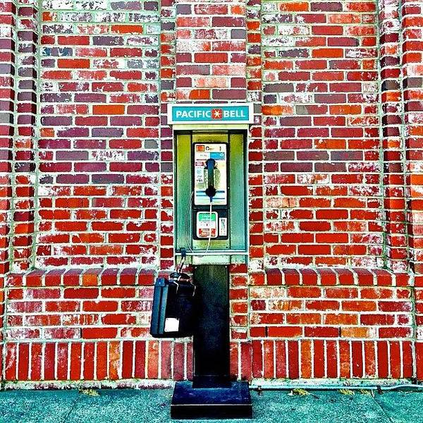 Wall Art - Photograph - Payphoneography by Julie Gebhardt