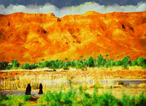 Paysage Wall Art - Painting - Paysage by George Rossidis