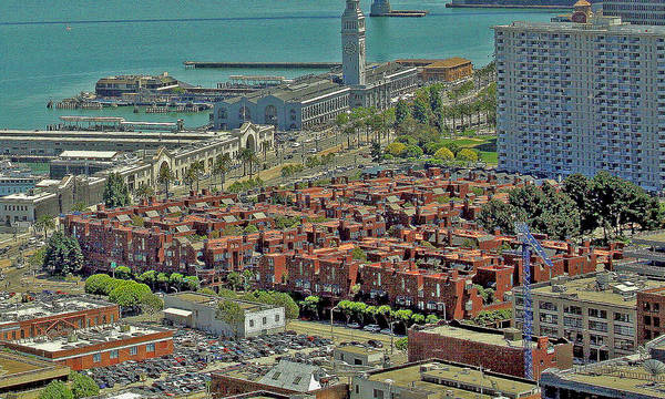 Photograph - pc 4 of 4 San Francisco Bay mural by Joseph Coulombe