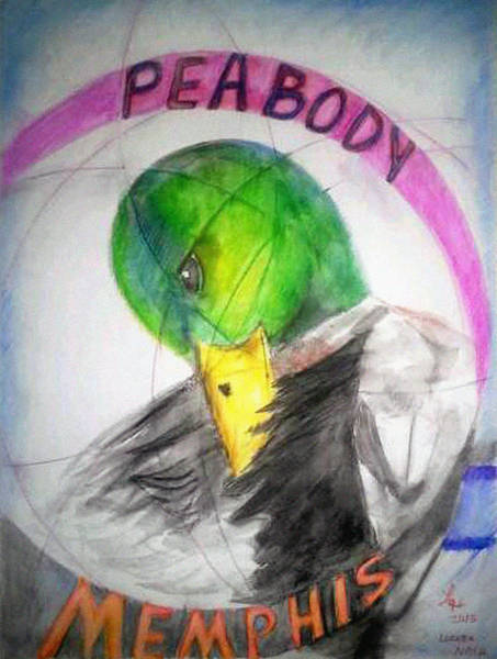 Painting - Peabody-memphis by Loretta Nash