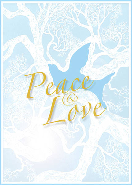 Digital Art - Peace And Love by Brian Kirchner