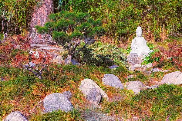 Realization Digital Art - Peace And Tranquility by Ram Vasudev