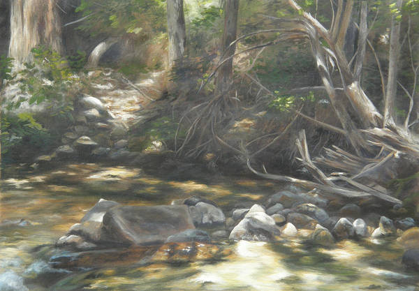 Painting - Peace At Darby by Lori Brackett