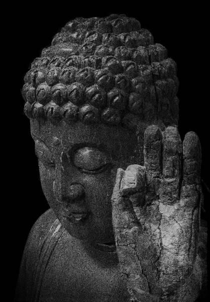 Gautama Digital Art - Peace Be With You by Daniel Hagerman