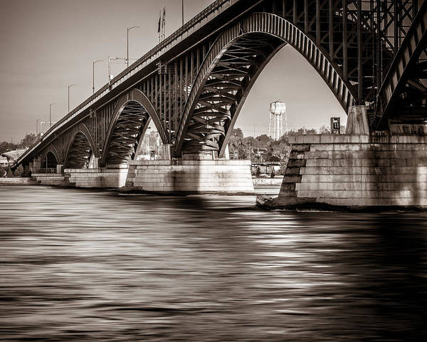 Wny Wall Art - Photograph - Peace Bridge by Chris Bordeleau