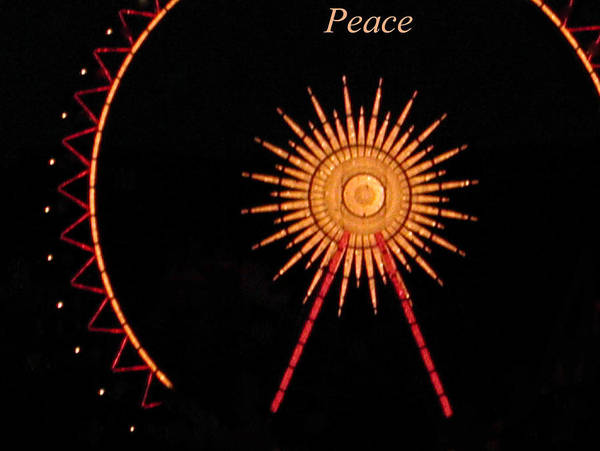 Photograph - Peace by Colette V Hera  Guggenheim