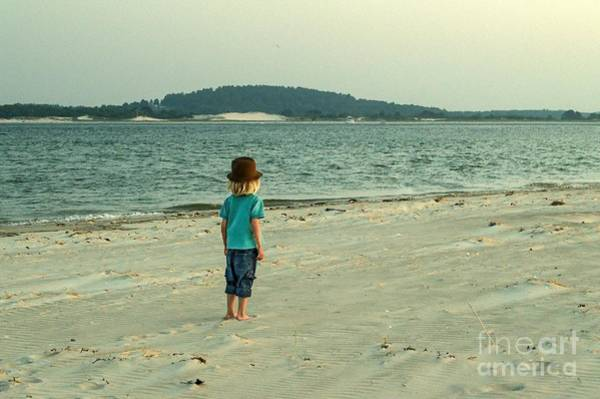 Sandy Point State Park Photograph - Peace by Debbie Green
