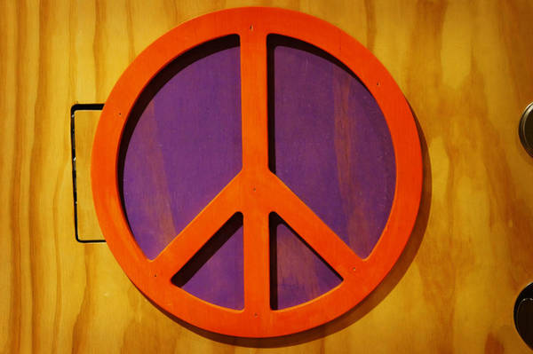 Photograph - Peace Decal by Artistic Panda