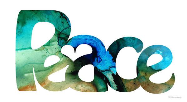 Peace Full 13 Art Print