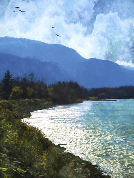 Painting - Peace In The Valley - Landscape Art by Jordan Blackstone
