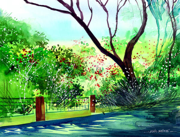 Painting - Peace Of Mind 1 by Anil Nene