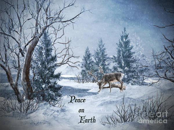 Wall Art - Digital Art - Peace On Earth by Lianne Schneider