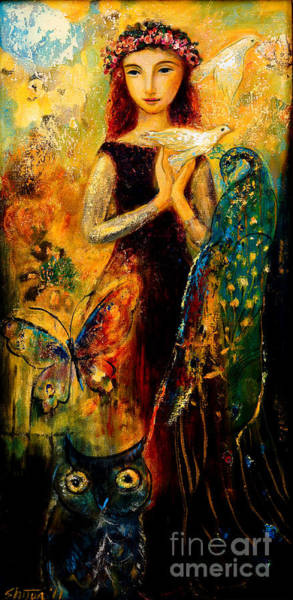 Painting - Peace by Shijun Munns