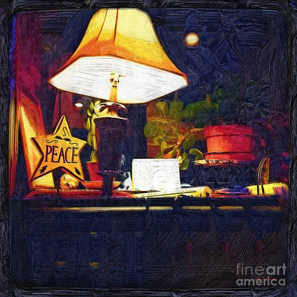 Painting - Peace Shines by RC DeWinter