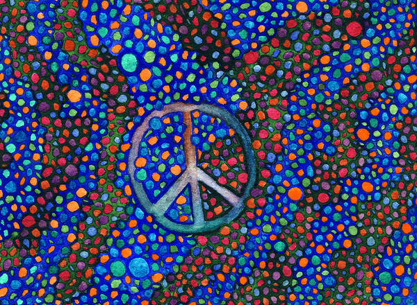 Painting - Peace Sign by Janice Dunbar